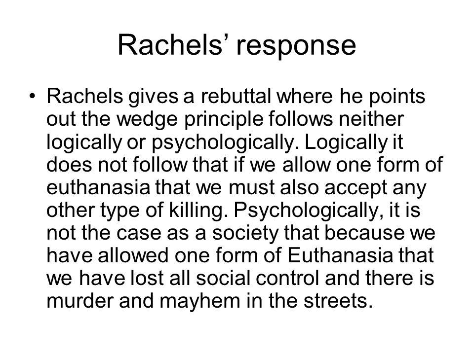 Rachels' response