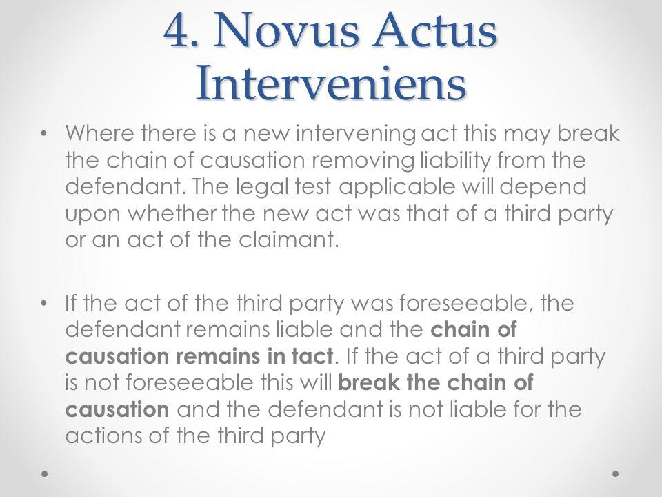 4. Novus Actus Interveniens
