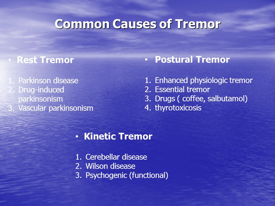 Common Causes of Tremor