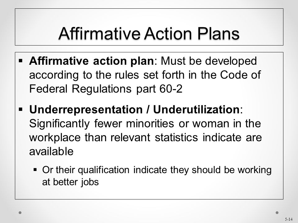 Sample Affirmative Action Program AAP