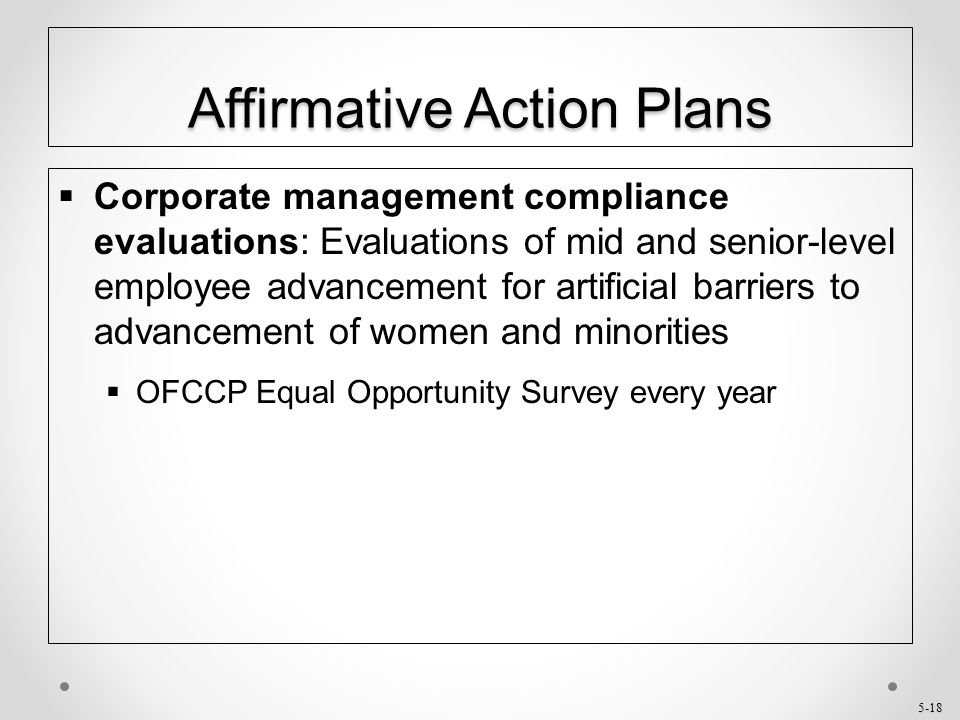 What is an Affirmative Action Plan  HR at MIT  Human