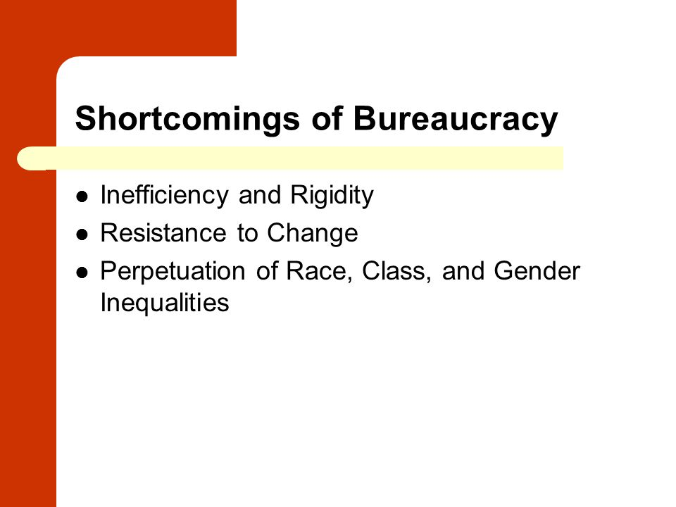 gender and bureaucracy The gender equity principles does this mean additional reporting and bureaucracy gender equity can be a pathway to gender equality.