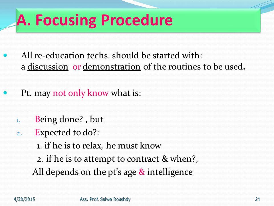 A. Focusing Procedure
