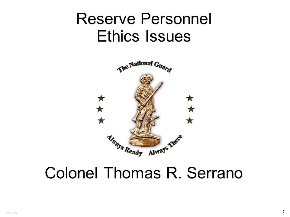 Colonel Thomas R. Serrano
