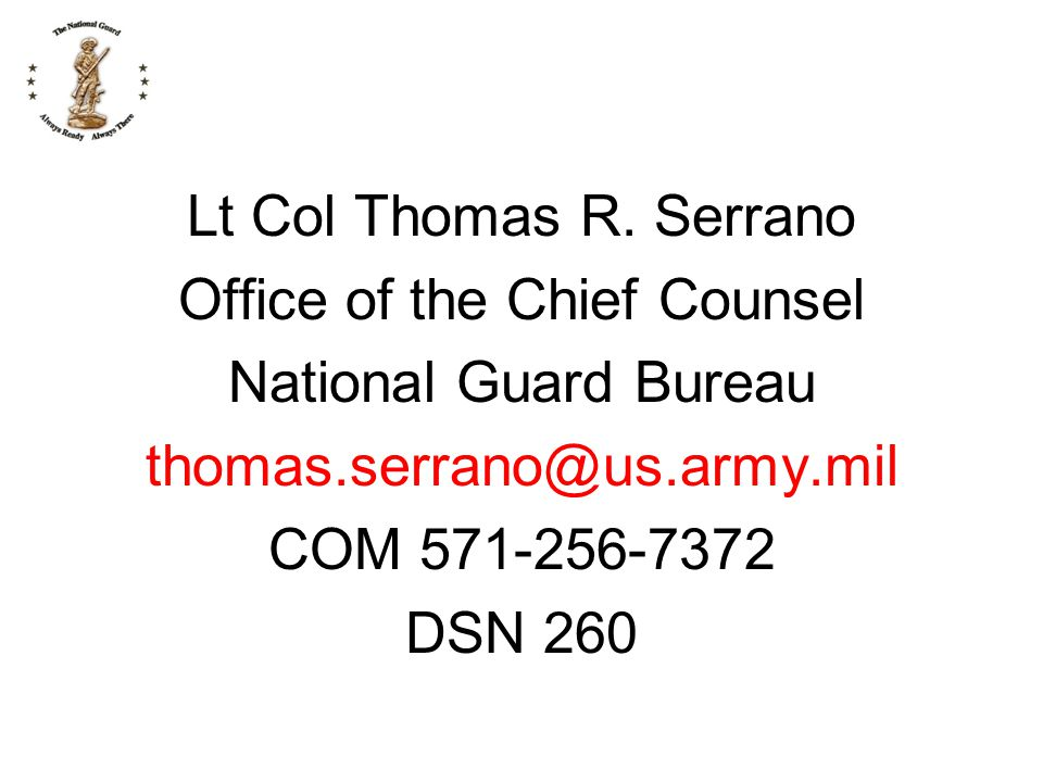 Office of the Chief Counsel