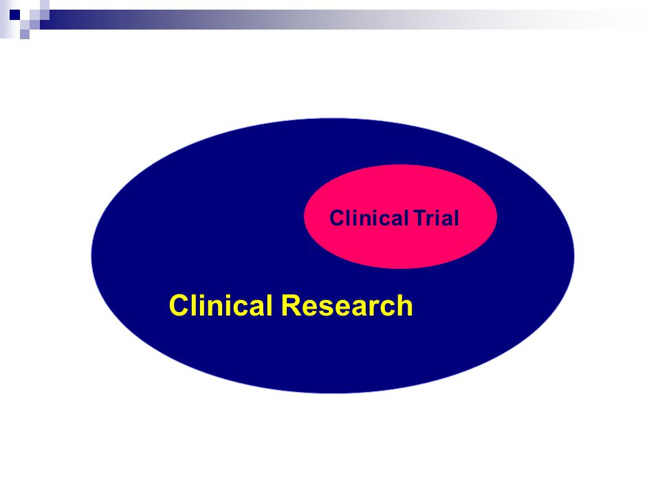 Clinical Trial Clinical Research