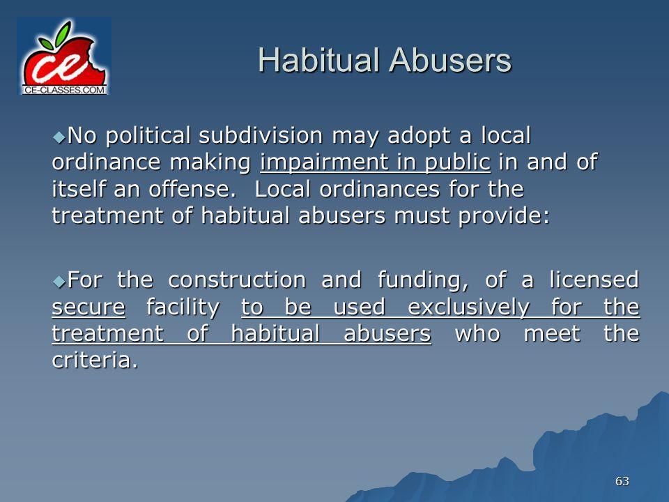 Habitual Abusers