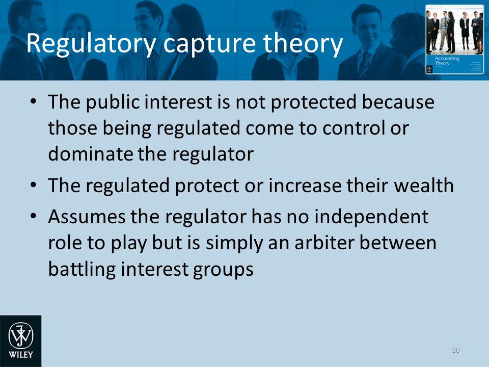 Regulatory capture theory