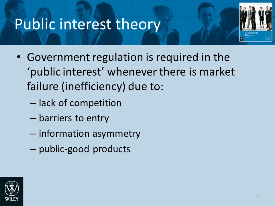 Public interest theory