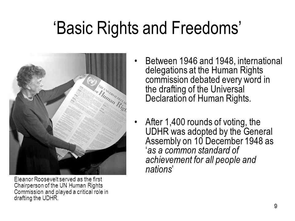 'Basic Rights and Freedoms'