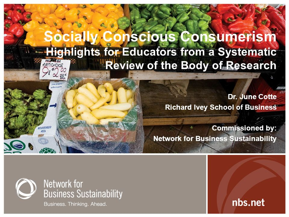 Socially Conscious Consumerism Highlights for Educators from a Systematic Review of the Body of Research