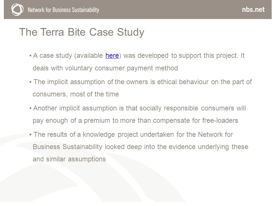 The Terra Bite Case Study