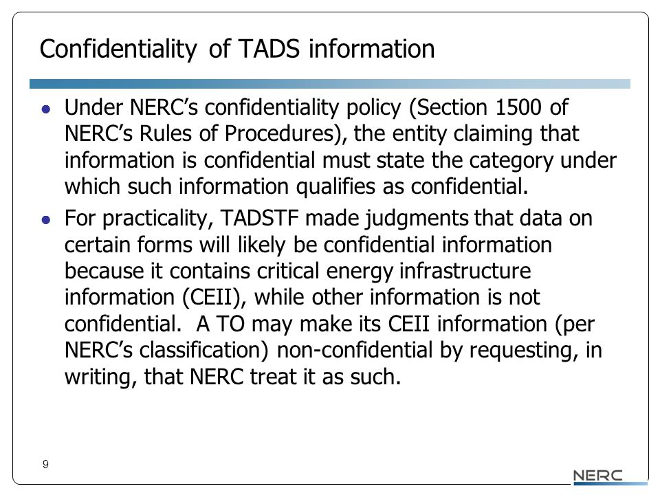 Confidentiality Designations