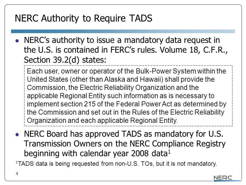 Can TOs Have Another Entity Report Its Data