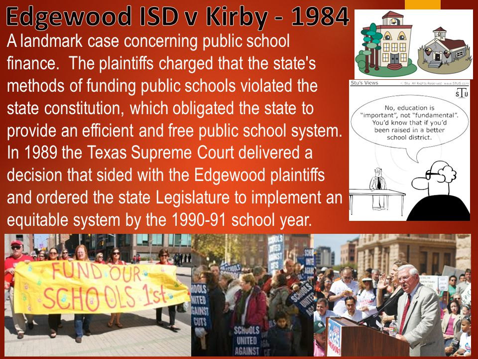 Edgewood ISD v Kirby - 1984
