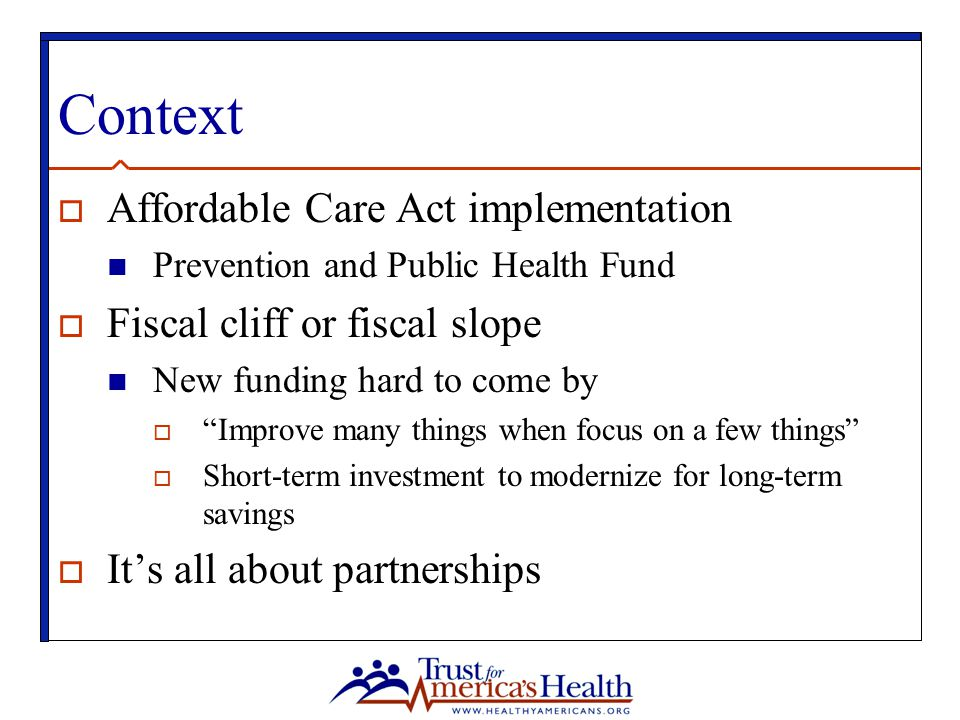 Context Affordable Care Act implementation