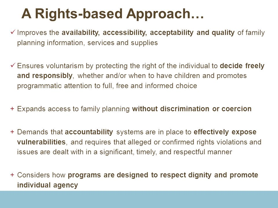 A Rights-based Approach…