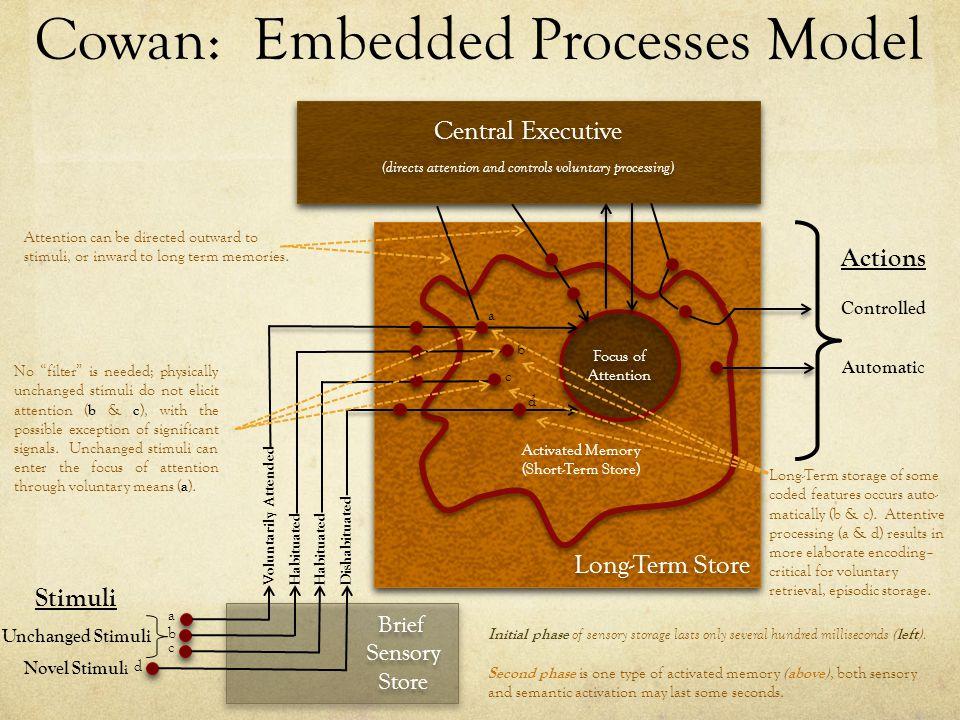 Cowan: Embedded Processes Model