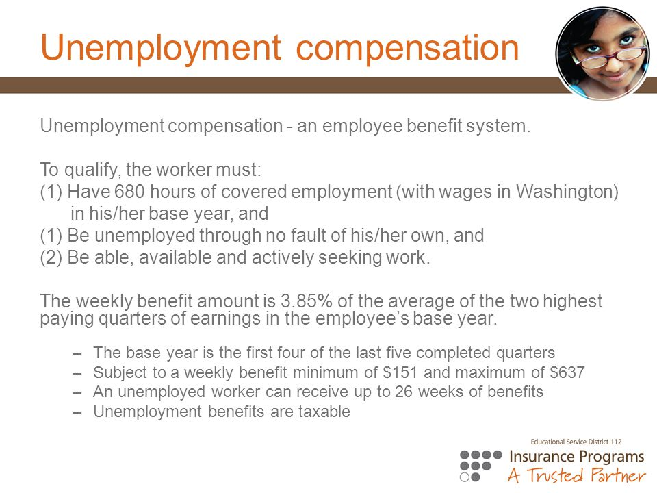 Unemployment compensation