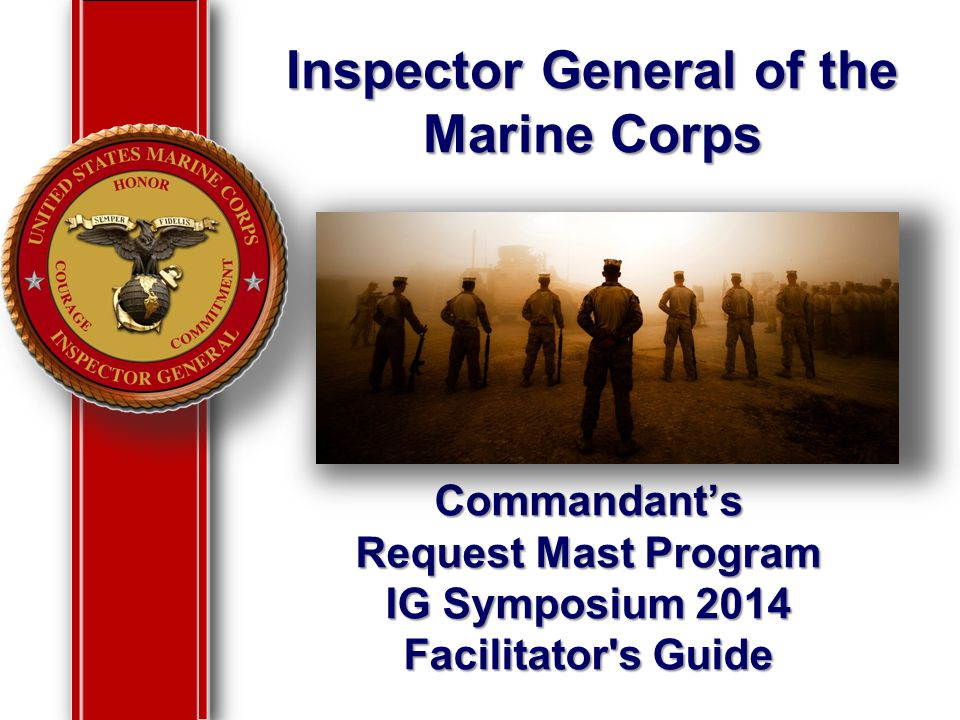 Inspector General of the Marine Corps