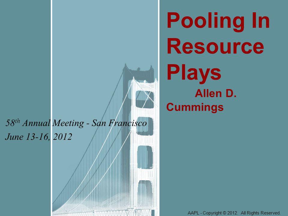 58th Annual Meeting - San Francisco June 13-16, 2012