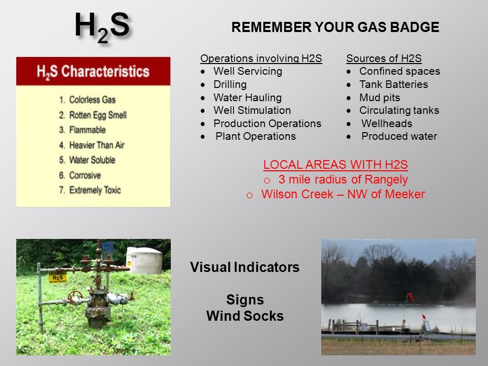 REMEMBER YOUR GAS BADGE