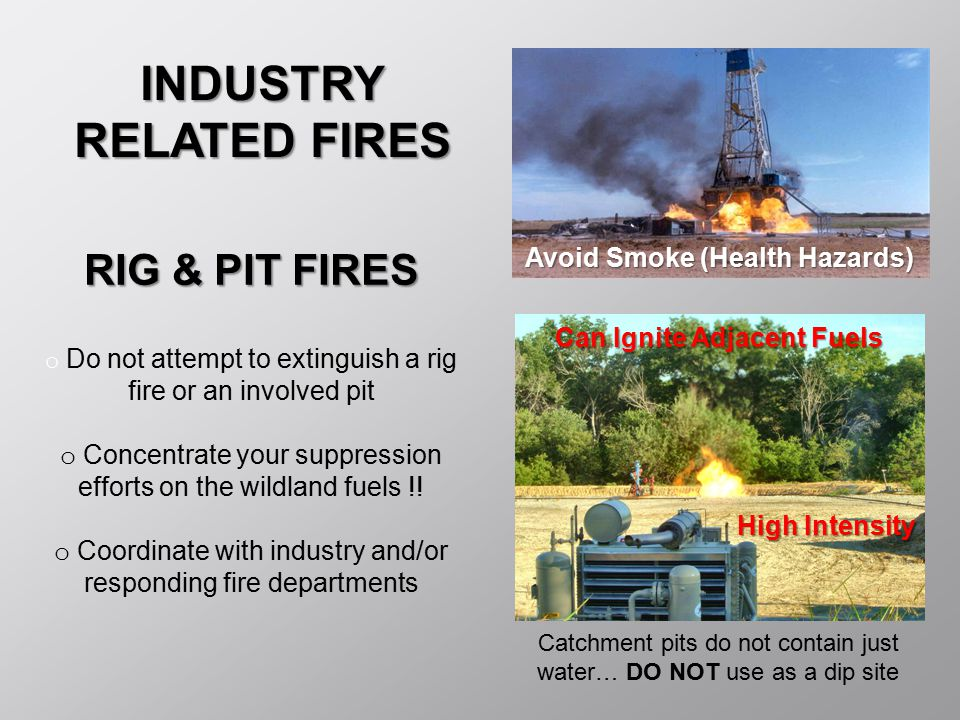 INDUSTRY RELATED FIRES