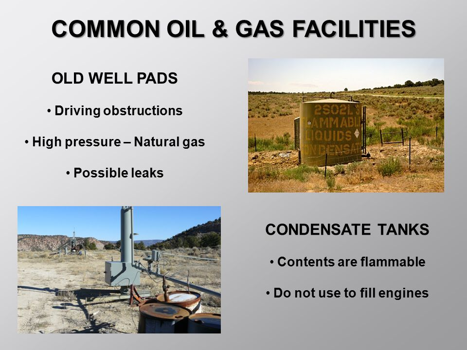 COMMON OIL & GAS FACILITIES