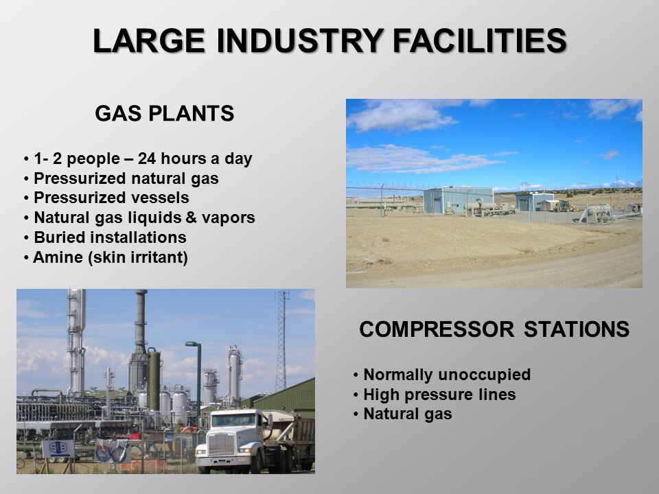 LARGE INDUSTRY FACILITIES