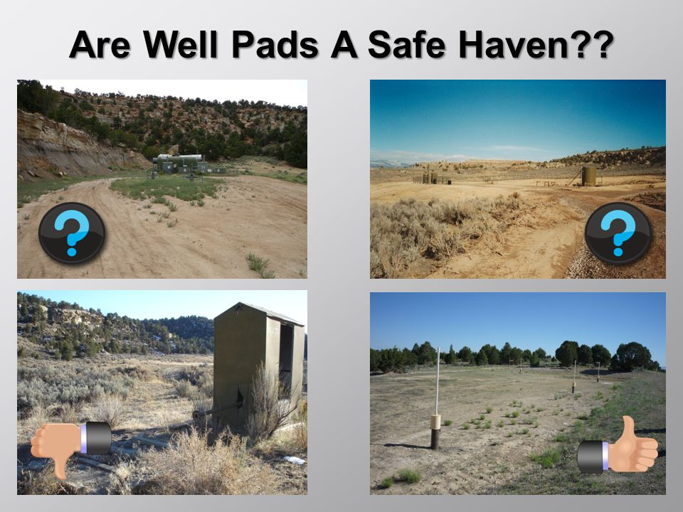 Are Well Pads A Safe Haven