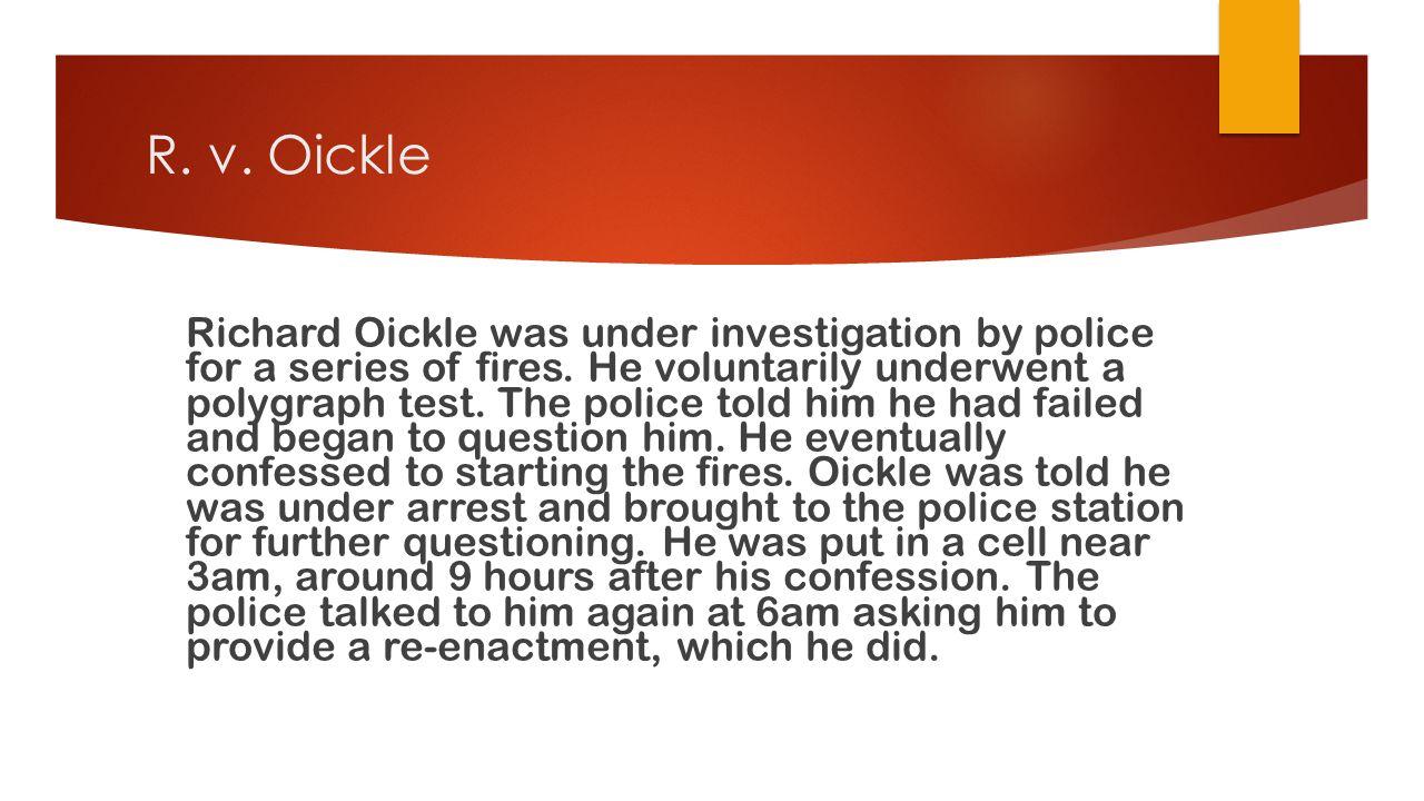 R. v. Oickle
