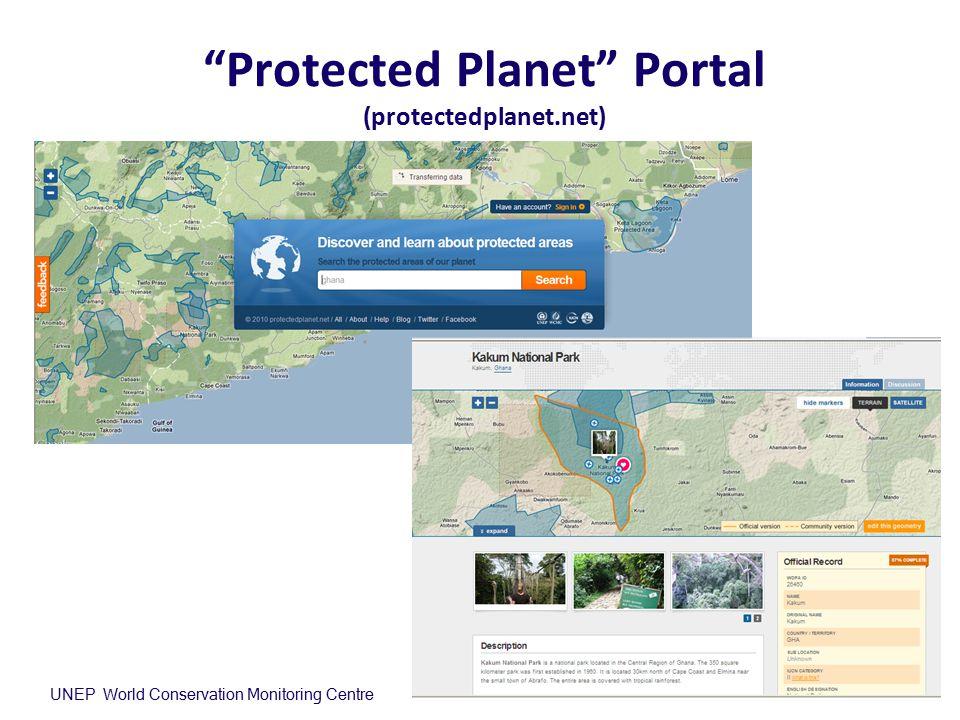 Protected Planet Portal (protectedplanet.net)