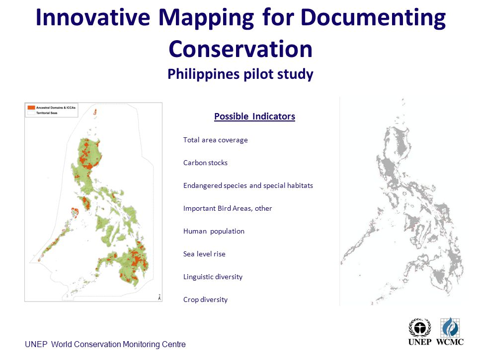 Innovative Mapping for Documenting Conservation Philippines pilot study