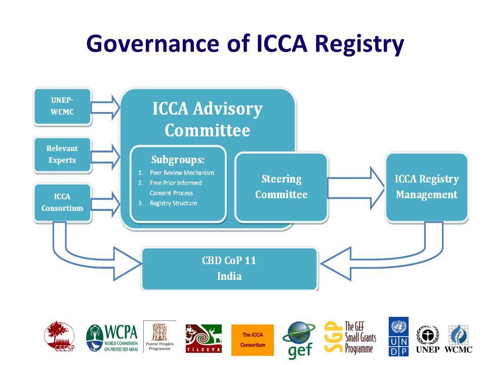 Governance of ICCA Registry