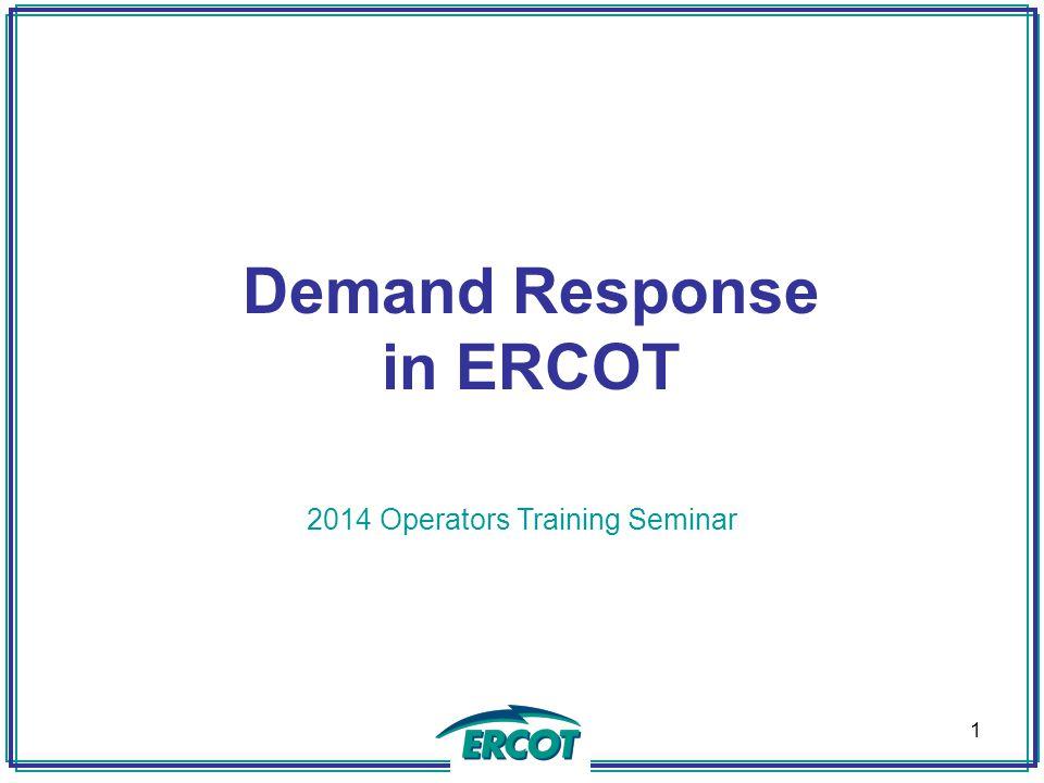 2014 Operators Training Seminar