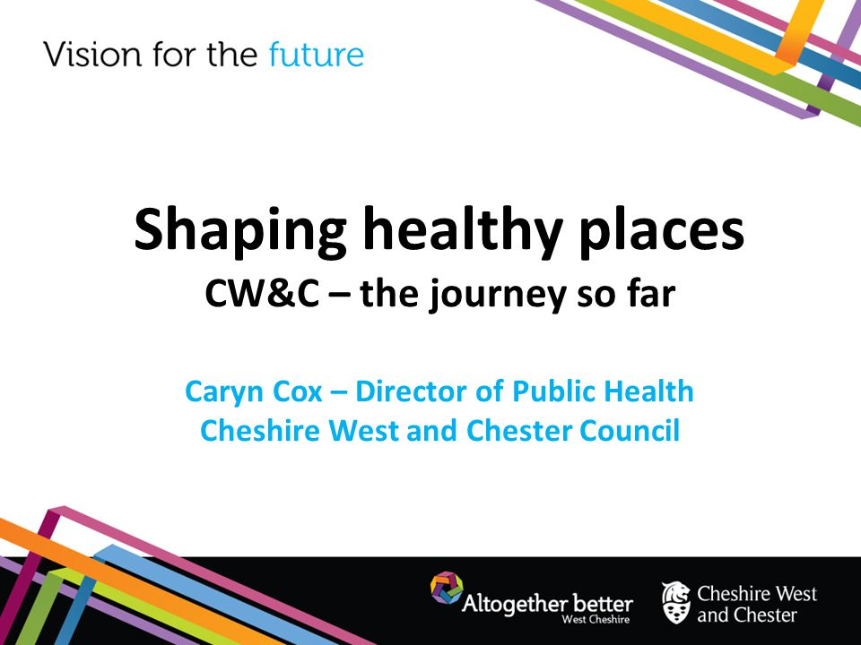 Shaping healthy places