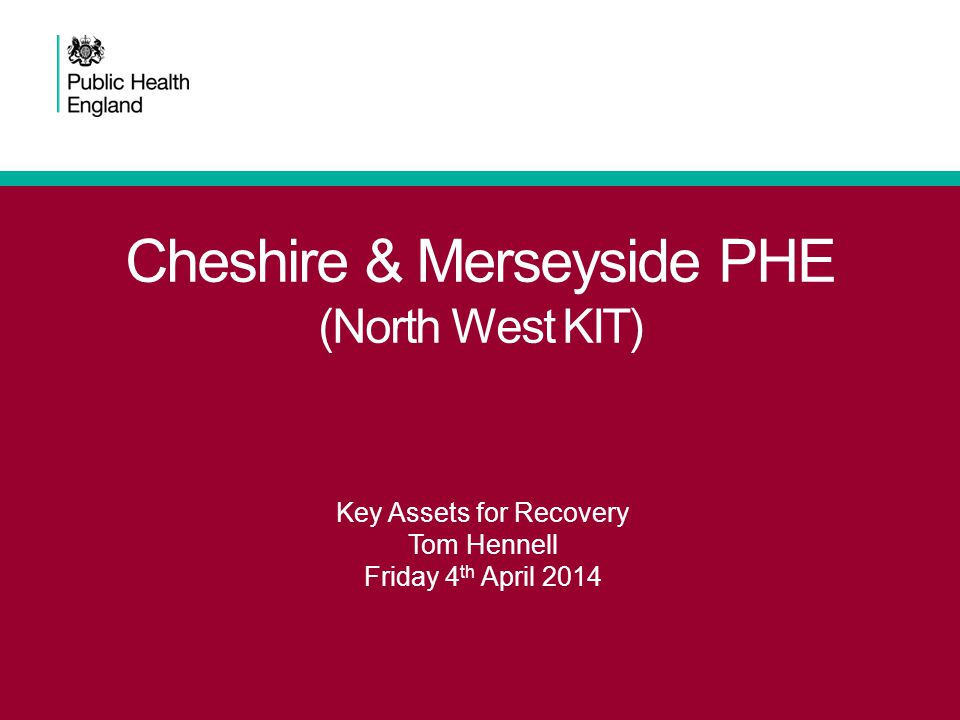 Cheshire & Merseyside PHE (North West KIT)
