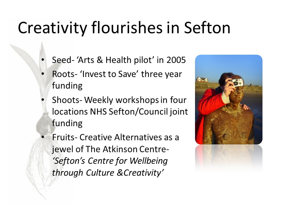 Creativity flourishes in Sefton
