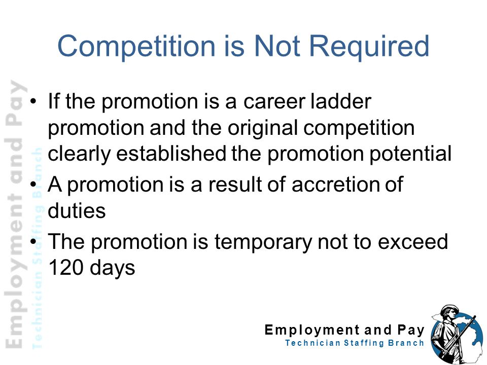 Competition is Not Required