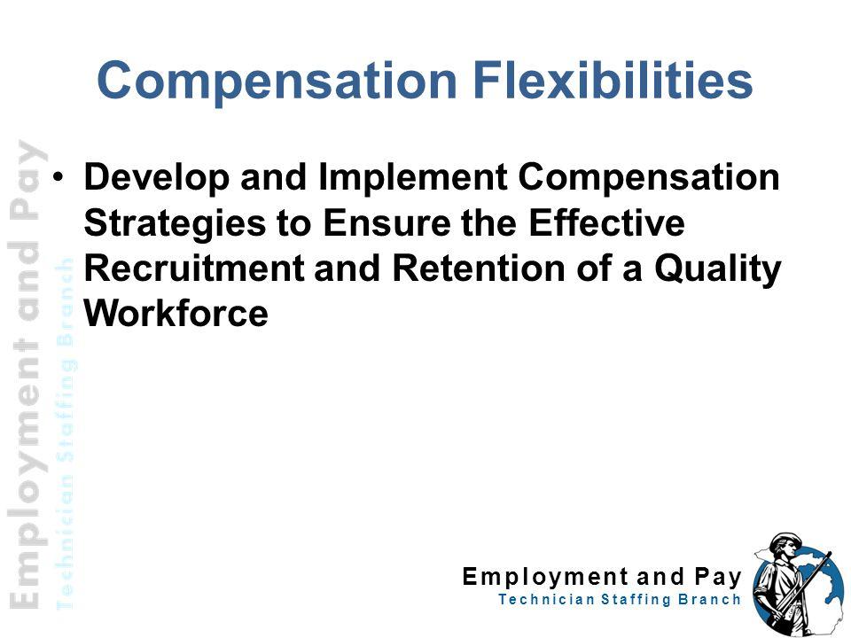 Compensation Flexibilities