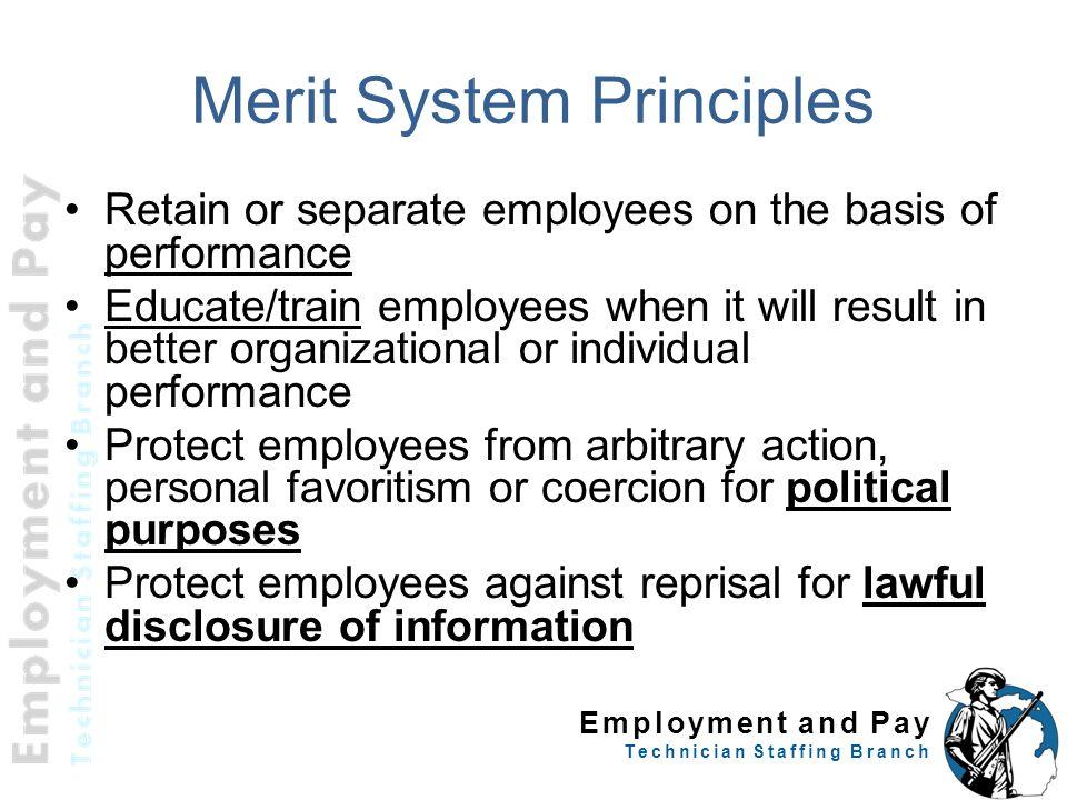 Merit System Principles