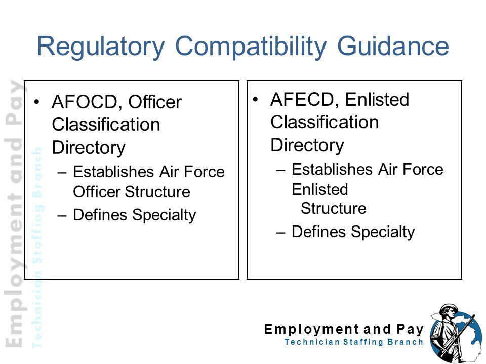 Regulatory Compatibility Guidance