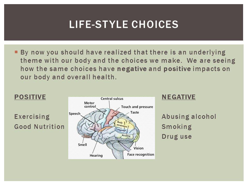 Life-style choices