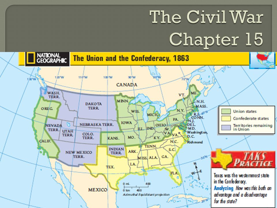 The Civil War Chapter 15 Cornell Notes