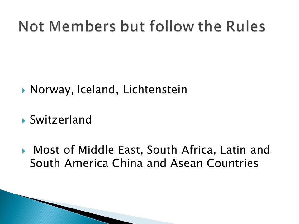 Not Members but follow the Rules