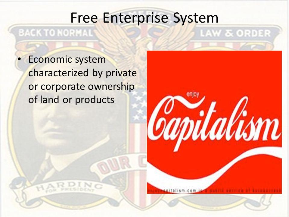 Free Enterprise System