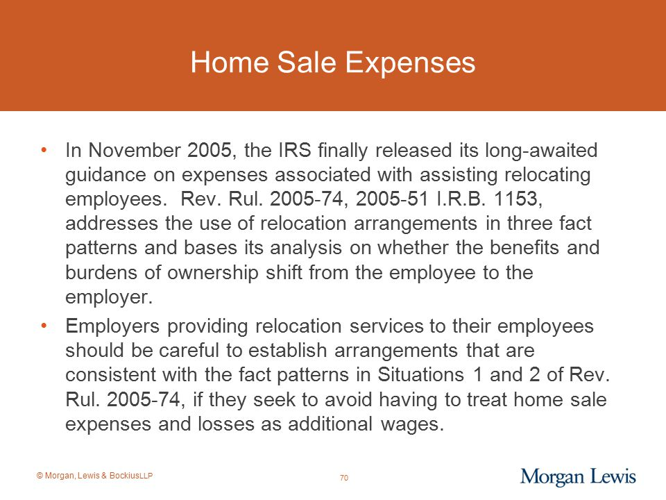 Home Sale Expenses