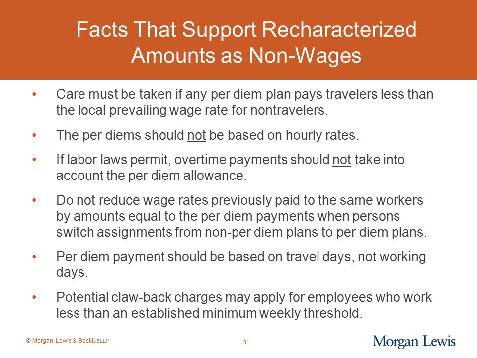 Facts That Support Recharacterized Amounts as Non-Wages