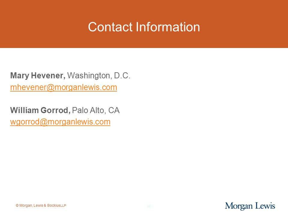 Contact Information Mary Hevener, Washington, D.C.