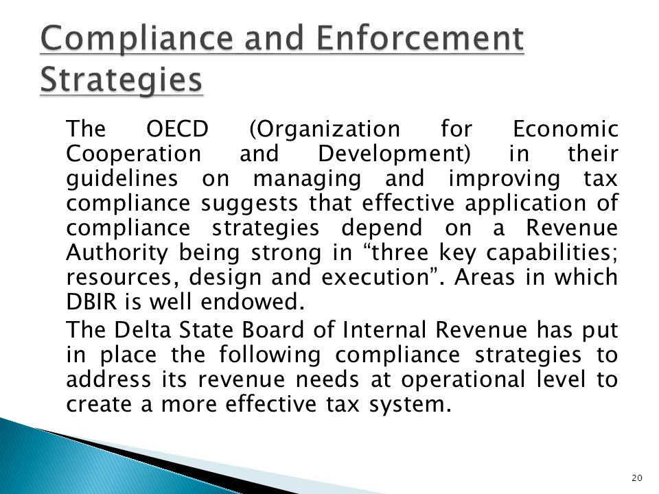 Compliance and Enforcement Strategies